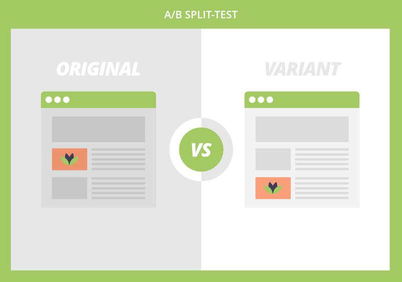 A/B split-test