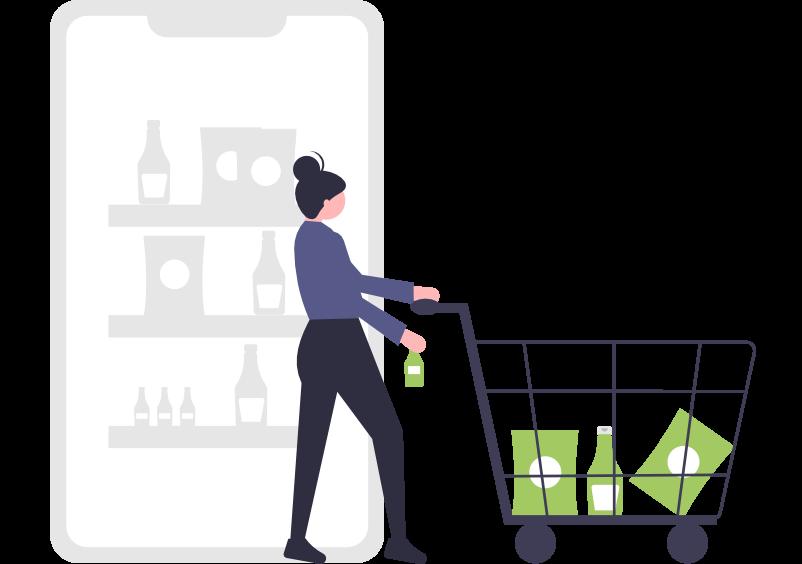 E-handel shopper