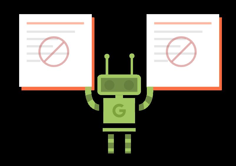 Google nægter indeksering af duplicate content