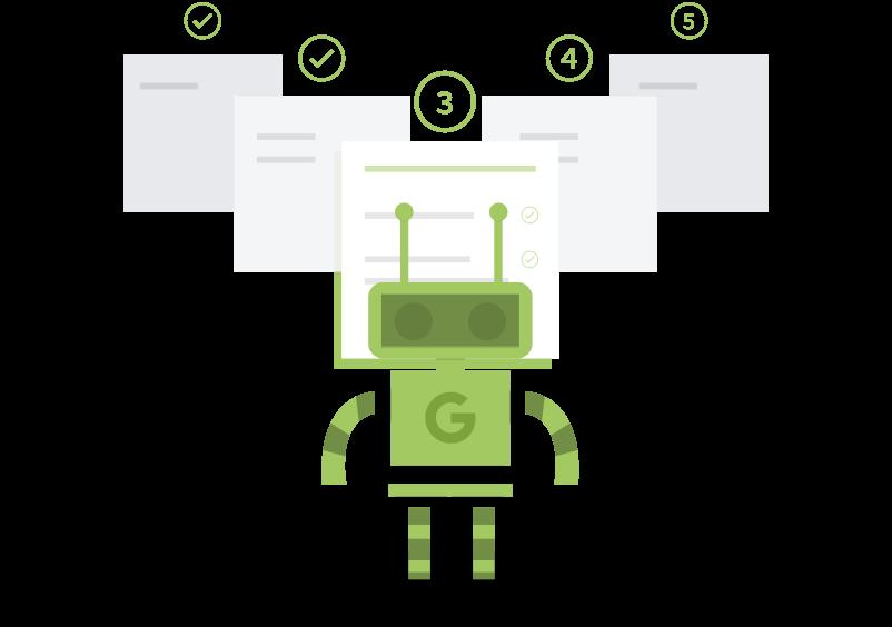 Googlebot crawler websider